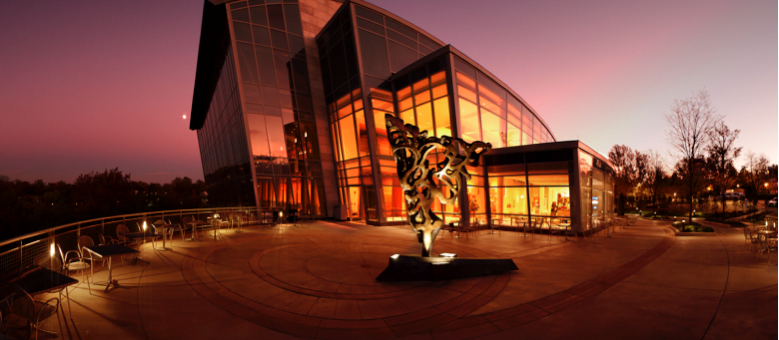 The Strathmore music venue is a key part of Bethesda's theater and arts scene.