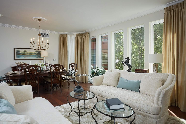 bethesda condo living room