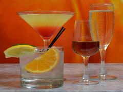 Happy hour drinks from Persimmon