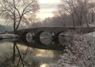 Photo of the Burning Bridge from Antietam National Battlefield taken from NPS website