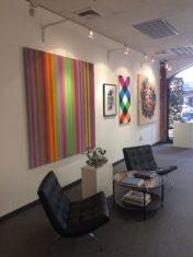 Inside Bethesda Fine Art Gallery in Maryland