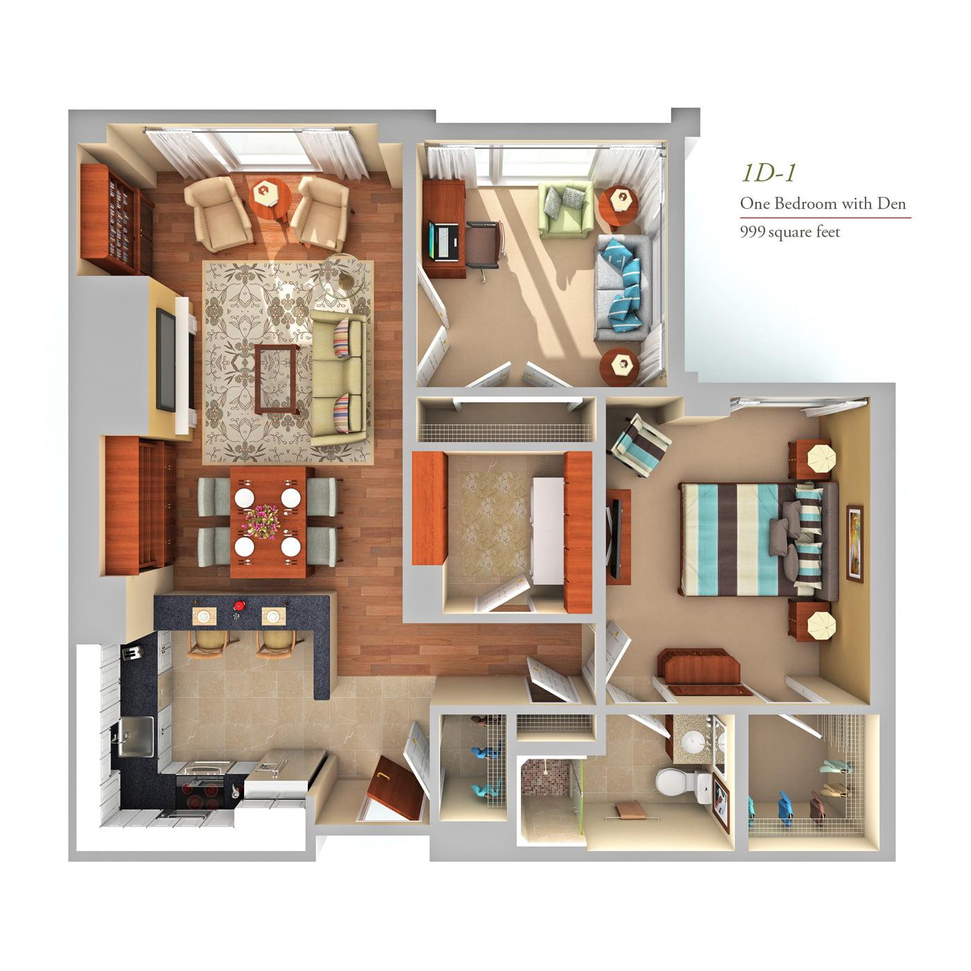 Luxury condo floor plans fox hill in bethesda md for Condo plans free