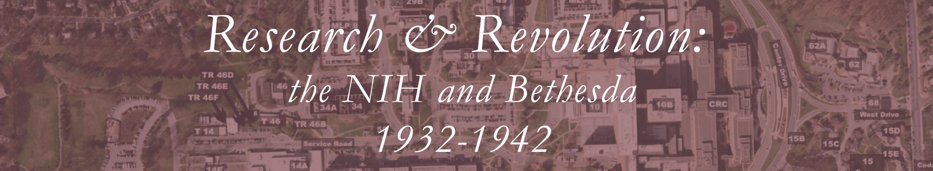 Research and Revolution: the NIH and Bethesda