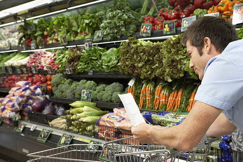 grocery list produce checkoff
