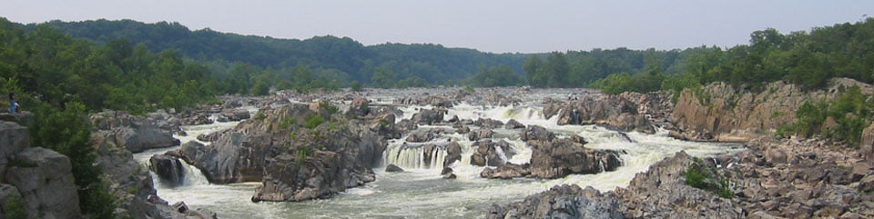 A view of Great Falls