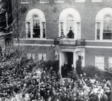 armistice day 1923 at woodrow wilson house