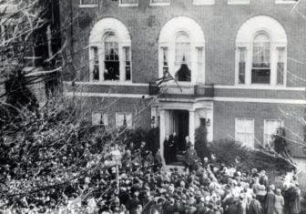 armistice day 1923 at woodrow wilson house
