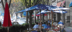 bethesda row restaurants outside eating