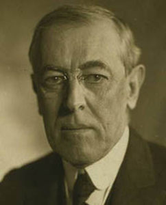 woodrow wilson portrait