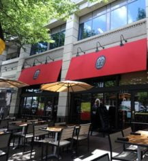 exterior of mussel bar and grille in bethesda md