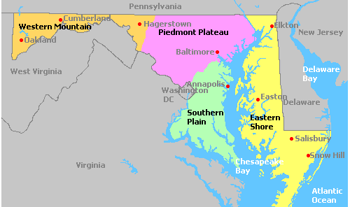 maryland wine regions