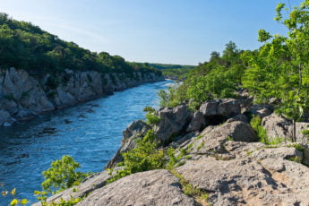 Billy Goat Trail, a popular hiking trail in Maryland