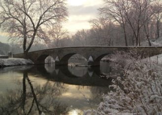 Photo of the Burning Bridge from Antietam National Battlefield taken from NPS website