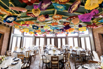 The Gramercy Mansion dining room in Maryland